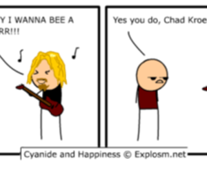 cyanide and happiness and chad kroeger image