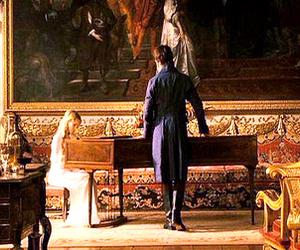 pride and prejudice, mr darcy, and piano image
