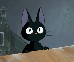 anime, cat, and kiki's delivery service image