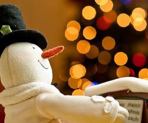 christmas and snowman image
