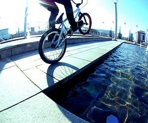 bike, boy, and bmx image