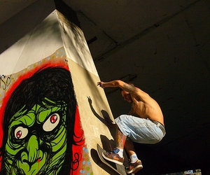 art, skate, and grafitti image