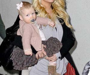 baby, baby girl, and jessica simpson image