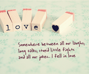 love, quote, and laugh image