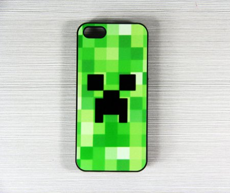 minecraft iphone case minecraft creeper iphone 5 cover on luulla by 12631