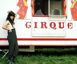 bat for lashes, circus, and overalls image