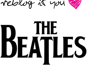 heart, the beatles, and reblog image