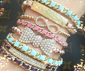 accessory, bracelet, and jewelry image