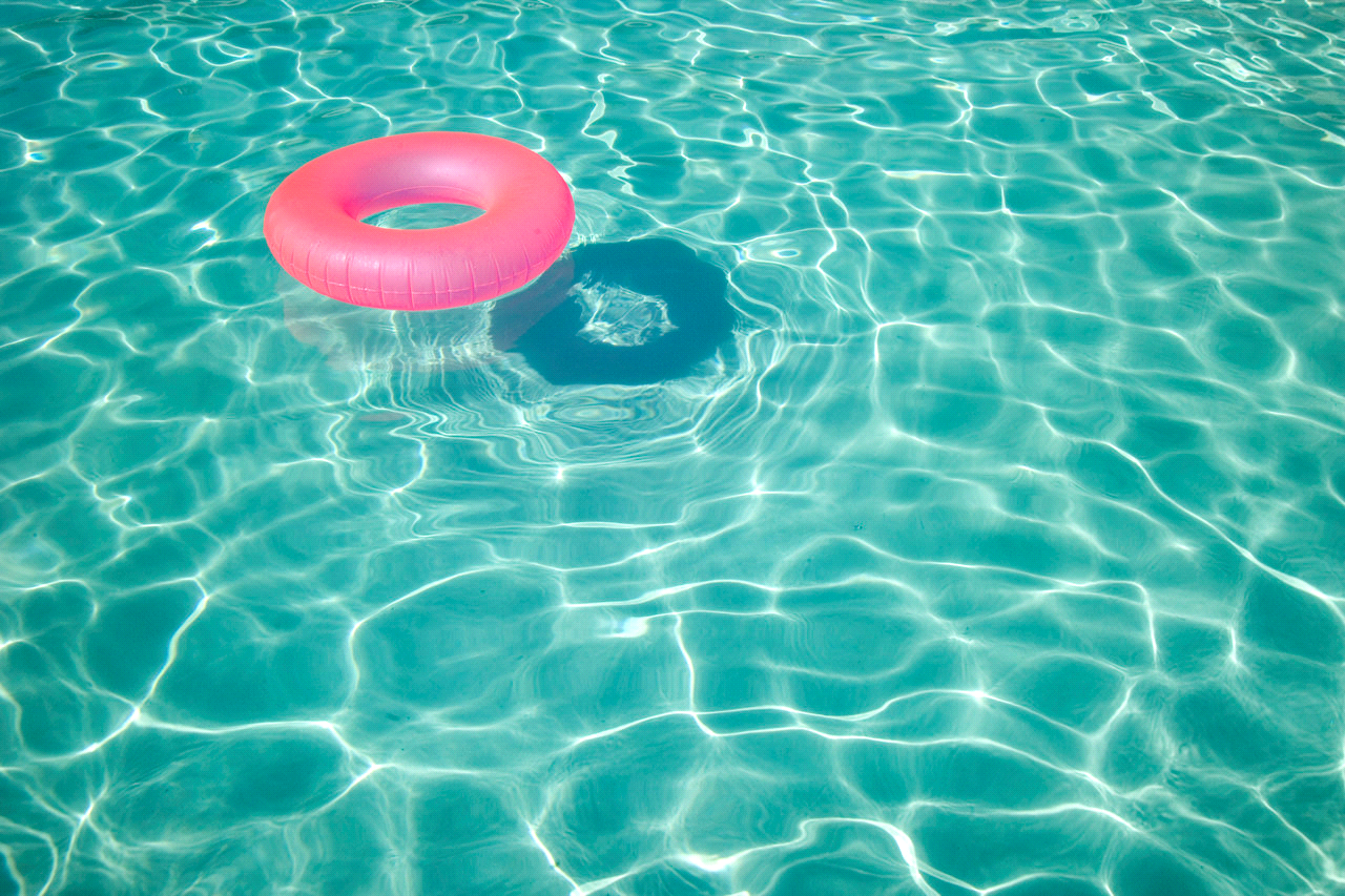 pool water with float. Swimming Pool And Spa Introduction On We Heart It - Water With Float A