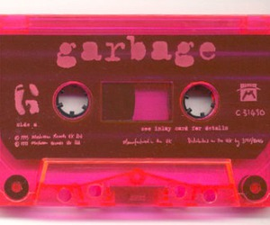 band, casette, and garbage image