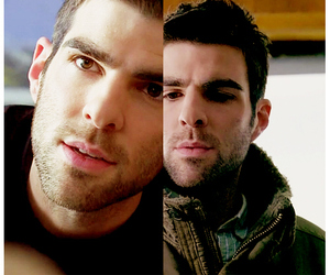 sylar, zachary quinto, and gabriel gray image