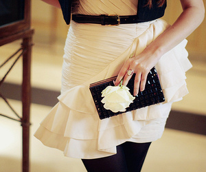black and white, chic, and style image