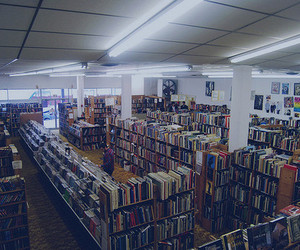 books, library, and photography image