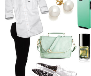 accesories, bag, and casual image