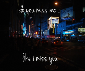 i miss you, miss, and new york image
