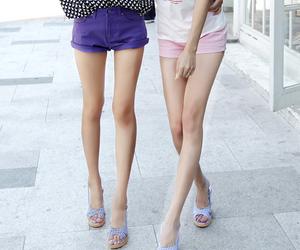 legs, girl, and skinny image