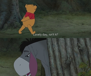sad, quotes, and winnie the pooh image
