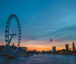 london, beautiful, and blue image