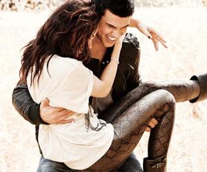 Taylor Lautner, kristen stewart, and twilight image