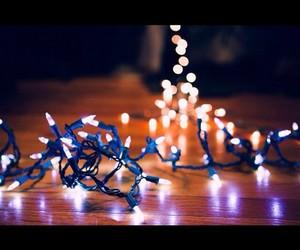 christmas lights and photography image