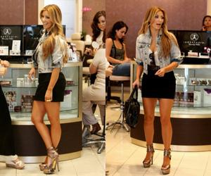 kim kardashian, blonde, and heels image