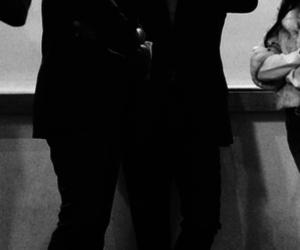 black and white, boys, and elegant image