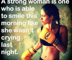 strong, woman, and quote image