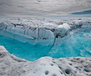ice, blue, and water image