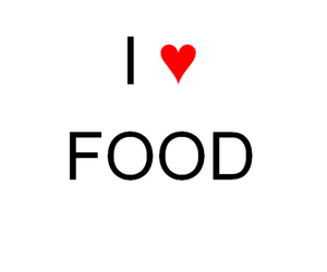 food, love, and i image