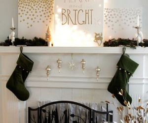 black, ornaments, and candles image