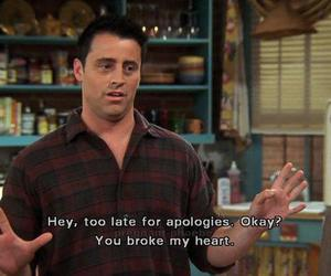 friends, quotes, and Joey image