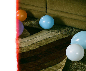 balloons and lomography image