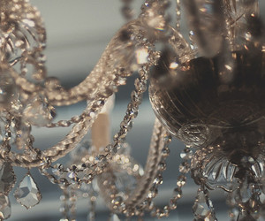 chandelier and crystal image