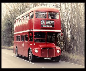 bus, nikon d60, and vintage image