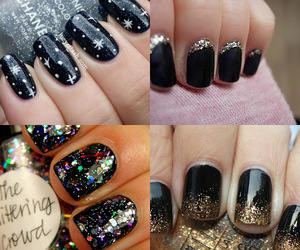 nails, christmas, and fashion image