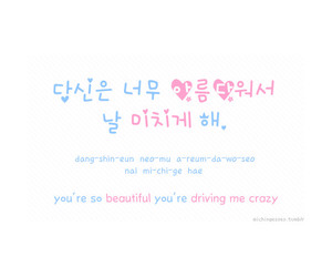 hangul, korean, and quotes image