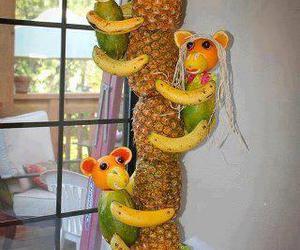 banana, frutas, and abacaxi image