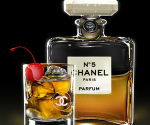 chanel, drink, and perfume image