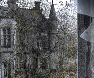 abandoned and old image