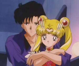 sailor moon, mamoru, and love image