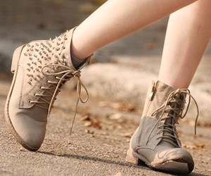 boots, fashion, and studs image
