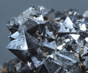 black and white, crystal, and diamond image