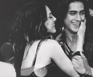couple, hug, and smile image