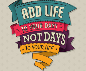 life, quote, and days image