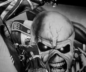 Bruce Dickinson, iron maiden, and metal image