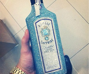 drink, blue, and like image