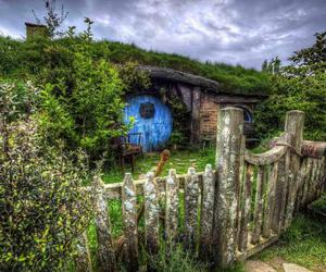 architecture, hobbit, and house image