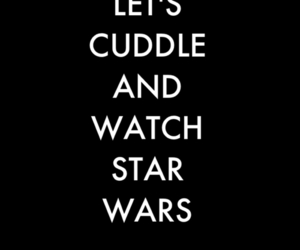 star wars, cuddle, and text image