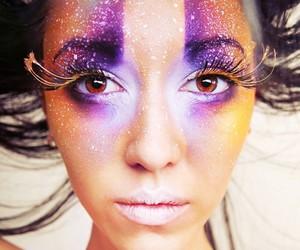 eyes, glitter, and fashion image