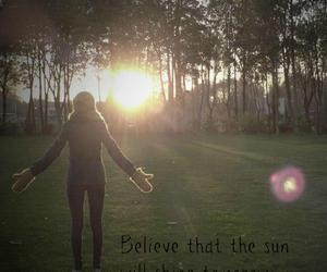 believe, sun, and dorine image